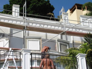 Fassadenrenovierung Construccion y Reformas - SCR Bau Tenerife,S.L.